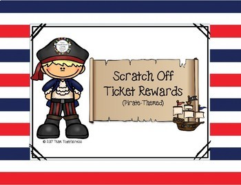 Scratch-Off Reward Tickets