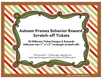 Scratch-Off Rewards - Autumn Frames