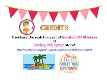 Scratch Off Rewards Birthday