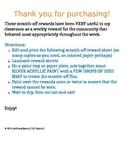Scratch-Off Rewards Sheet