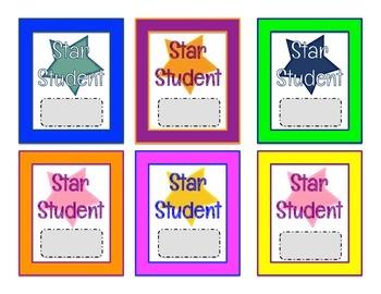 Scratch Off Rewards Star Student
