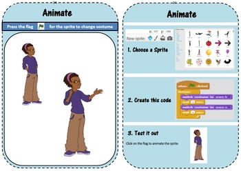 Scratch 2.0 Lesson Task Cards (Basic)