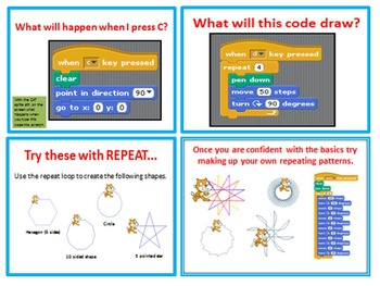 Scratch Programming Coding - Basic Shapes & Angles PowerPoint Presentation
