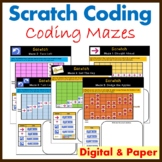 Scratch Programming Coding Mazes: Coding Unplugged Activities