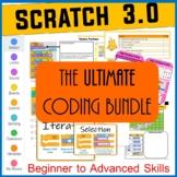 Scratch Programming Ultimate Lesson Plans Bundle (Beginner
