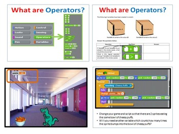 Scratch Programming Coding - Variables & Operators PowerPoint Presentation