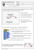 Scratch Programming - Computational Thinking Homework 3
