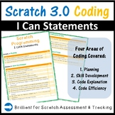 Scratch Programming I CAN statements