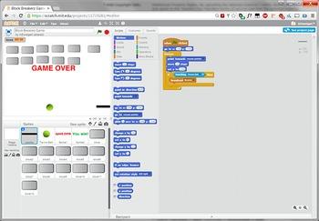 Scratch Programming Project Video Tutorial - Block Breaker Game