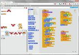 Scratch Programming Project Video Tutorial - Reversed Grav