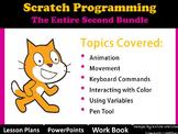 Scratch Programming Coding- The Entire 2nd Lesson Plans Bundle