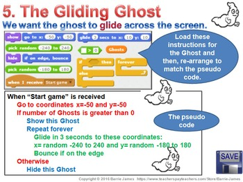 Scratch Project III: Ghost Busting