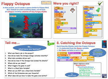 Scratch Project VIII: Flappy Octopus