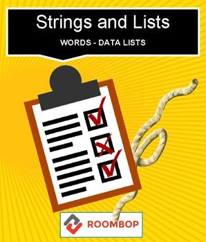 Scratch: Strings and List (Intermediate #9)