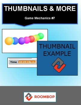 Scratch: Thumbnails and More! (Game Mechanics #7)