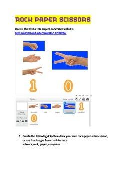 Scratch Tutorial 11 - Rock Paper Scissors