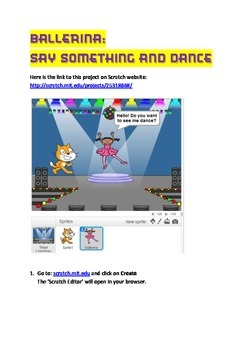 Scratch Tutorial 2 - Ballerina - Say Something and Dance