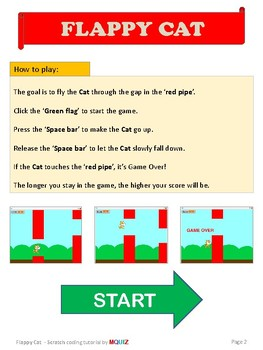 Flappy Cat - Scratch Tutorial