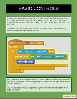 Scratch: Walking, Running, Jumping and Ground (Game Mechanics #2)