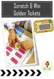 Scratch & Win Golden Tickets