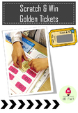 Scratch & Win Golden Tickets