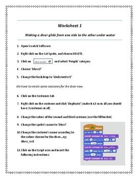 Scratch Worksheet 1