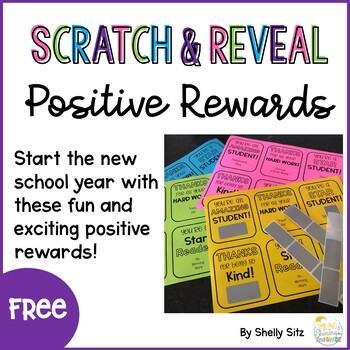 Scratch and Reveal Positive Notes