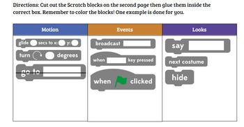 Scratch (coding) Matching Game