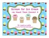 Scream for Ice Cream - /ea/ Vowel Team Connect 4