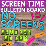Screen-Free Week Bulletin Board and Activity Kit