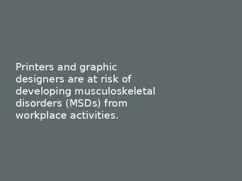 Screen Printing & Graphic Design Safety Presentation