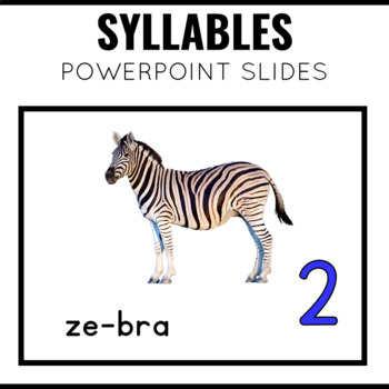 Syllables PowerPoint Slides