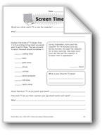 Screen Time (Thinking Skills)
