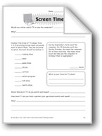 Screen Time (Thinking Skills)