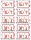 Screen Time Tickets