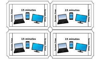Screen-time Ticket