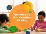 Screenplay Writing Sample for Grades 2nd and 3rd Common Core 2.3, 3.3