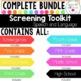 Screening Toolkit BUNDLE {Speech and Language}
