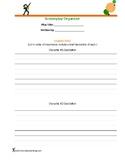 Screenplay Organizer (Practice writing dialogue)