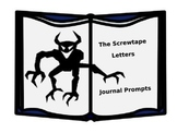 Screwtape Letters Journal Prompts PPT
