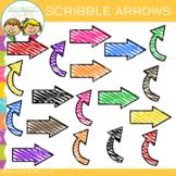 Free Scribble Arrows Clip Art