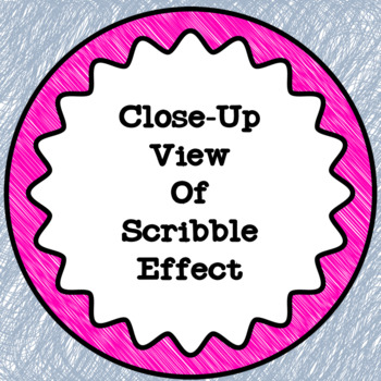 Scribble Circle Frames - Free Download