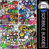 Scribble Season Clipart MEGA Set