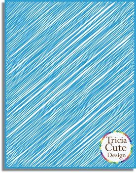 Digital Paper - Scribble Style