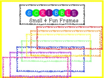 Scribble Frames Small