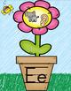 Scribble Garden & Flower Themed Alphabet Classroom Decor