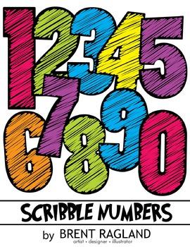 Scribble Numbers!