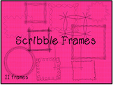 Scribble Picture Frames