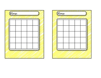 Scribble Themed Behavior/Homework Incentive Charts
