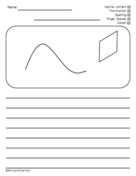 Squiggle Writing Activities